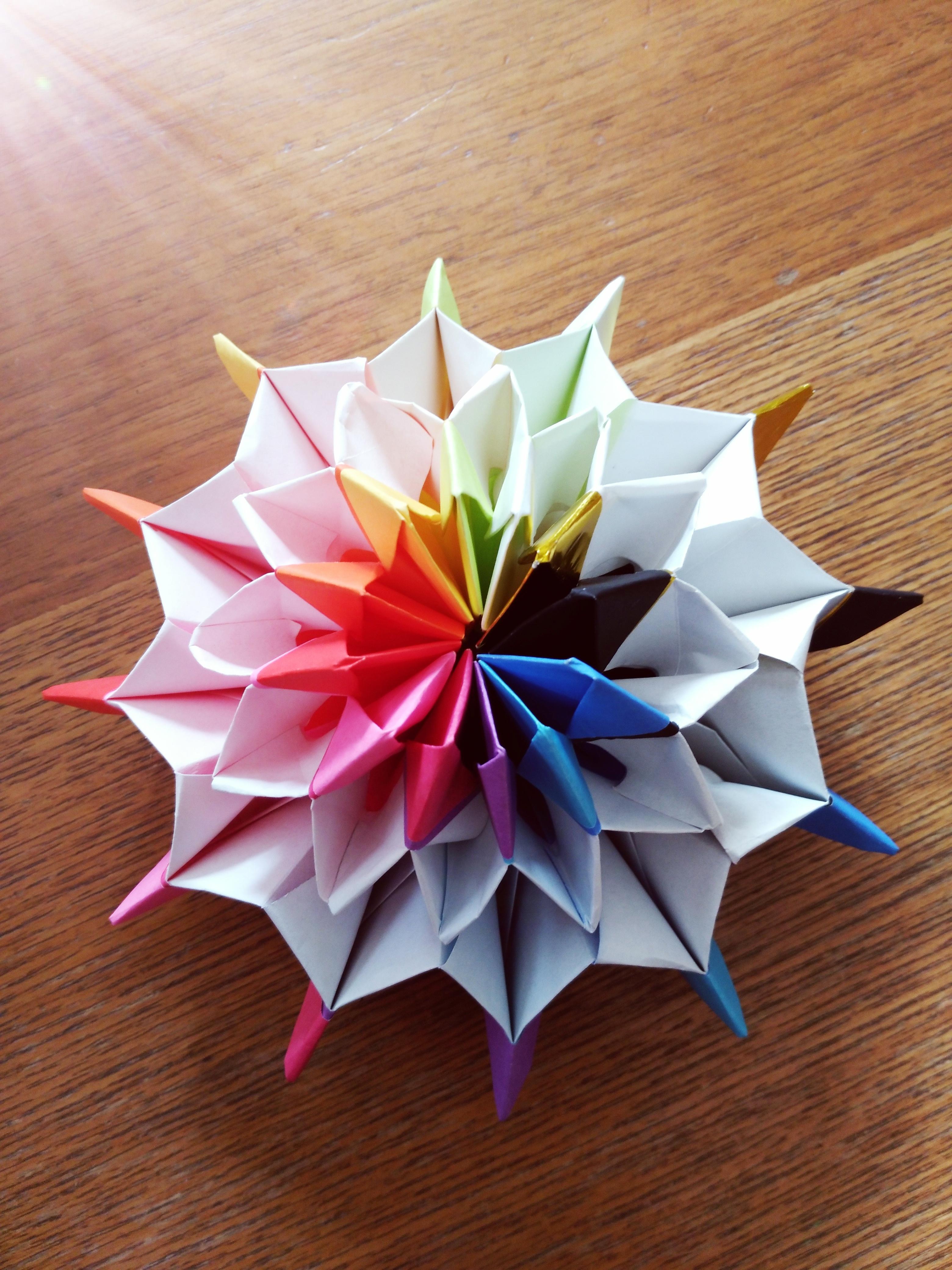 折り紙 立体 難しい